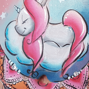 Formation belly painting licorne