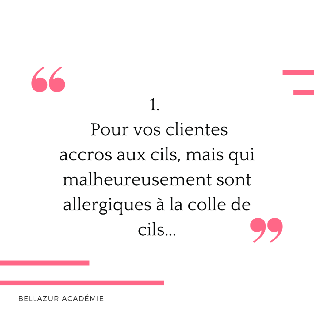 Allergie colle cil
